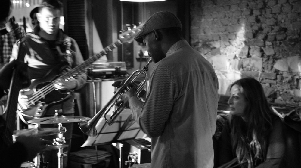- Live at Hank's Bree St Image by Ignatius Mokone