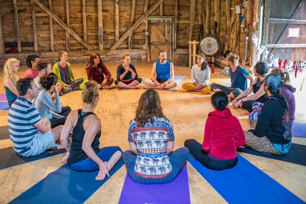 Our second workshop in the amazing Barn - as usual with focus on dance technique