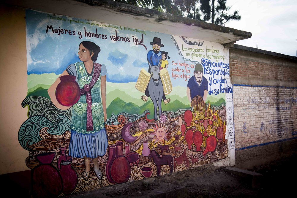 From a small village outside Oaxaca