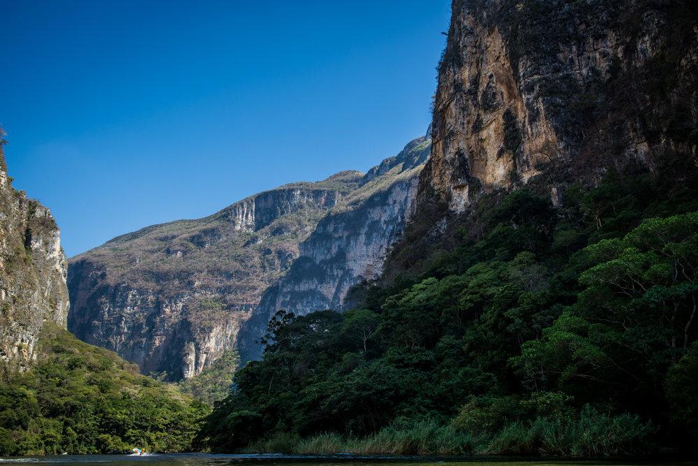 Cañón del Sumidero in Chiapas