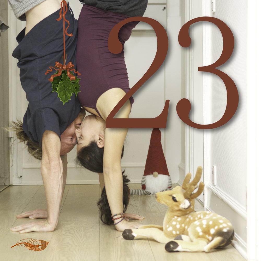 La foto del 23 Dicembre del nostro Acro Calendario // The photo of the 23rd Dicember of our Acro calendar