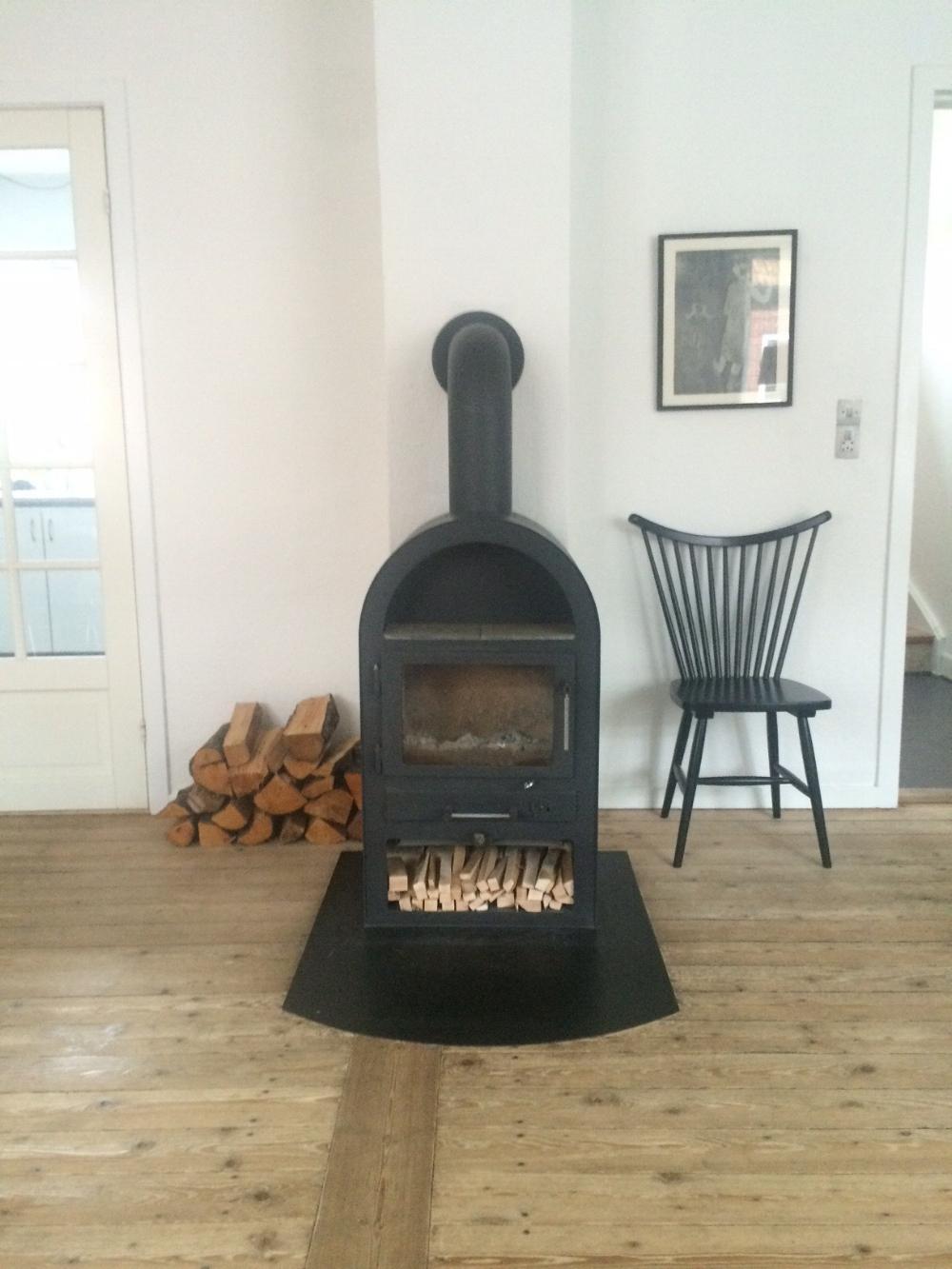 A fire stove in our home, my dream! // Una stufa in casa, il mio sogno!