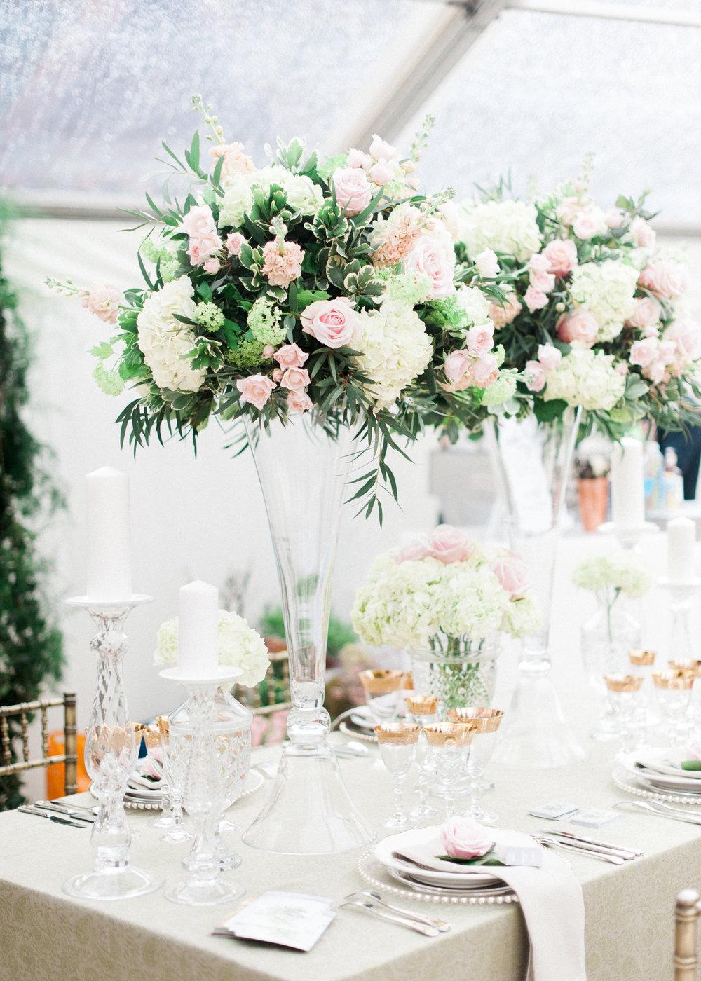 Buckinghamshire Wedding Florist WeddingShowcase At The Dairy Waddesdon Manor 5th March 2017