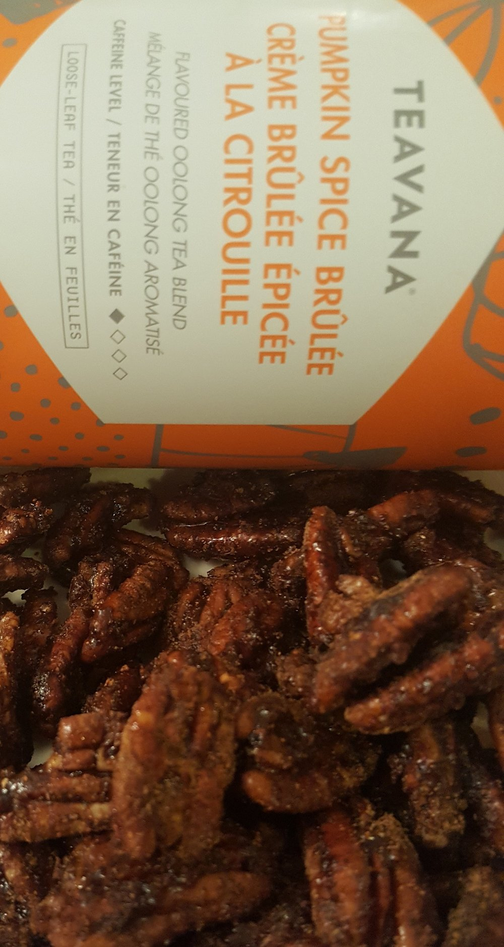 Here's my final yummy pecans: