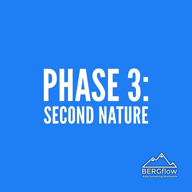 Phase 3 of Habit Formation: The greener pastures. When you realize it's become second nature. The finish line and starting line all at the same time. When it's time to start all over with another #powerhabit. When you realize how much control you have of your future and becoming who you are meant to be!⠀ ⠀ #bergflow #habitformation #powerhabits #strongerthanyouthink #createyourfuture #personaldevelopment