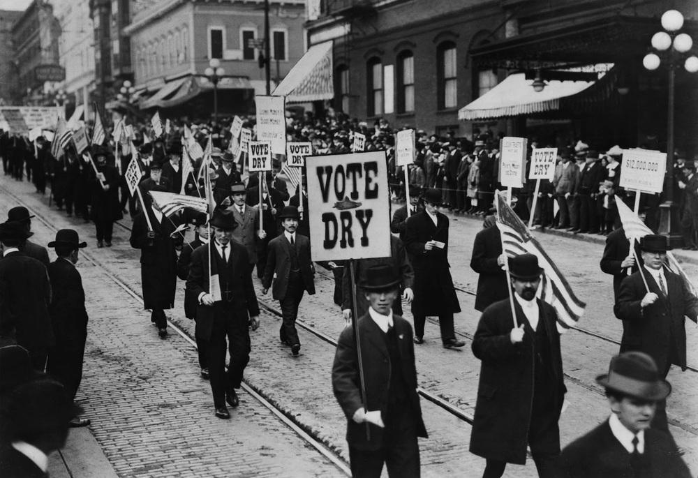 A pro-Prohibition protest Source: Ken Burns' PROHIBITION