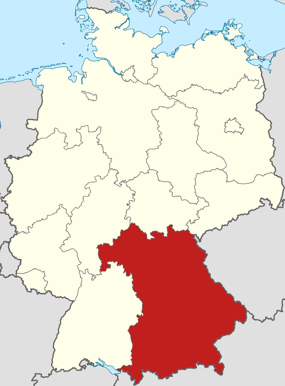 Bavaria, Germany Source: Wikimedia