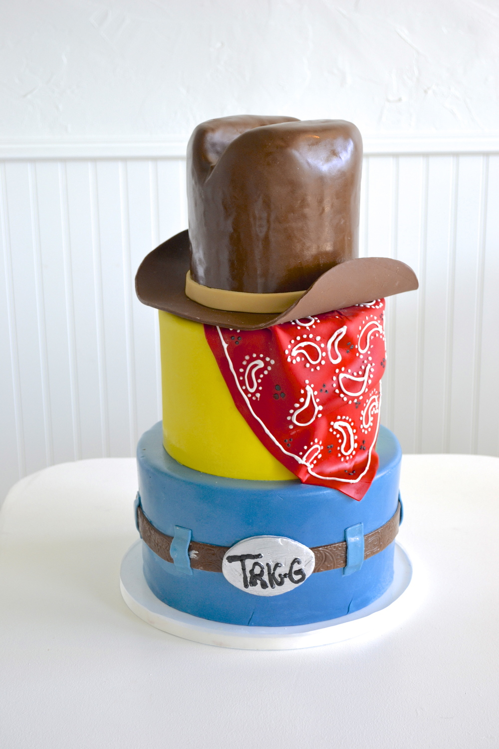 Cowboy Birthday Cake | The SweetSIde | Seattle Custom Cake and Desserts
