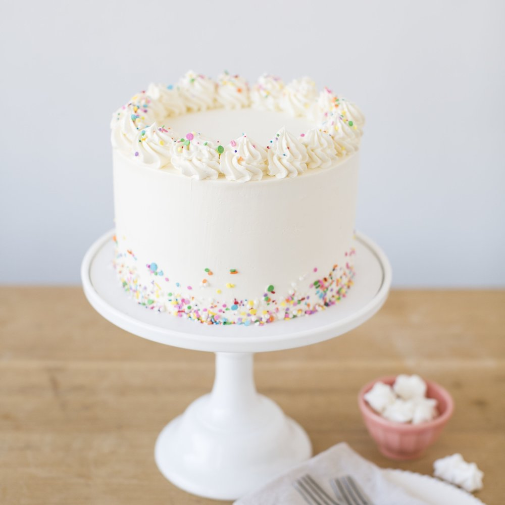 Very Vanilla   Vanilla cake, filling and buttercream … A classic    $45