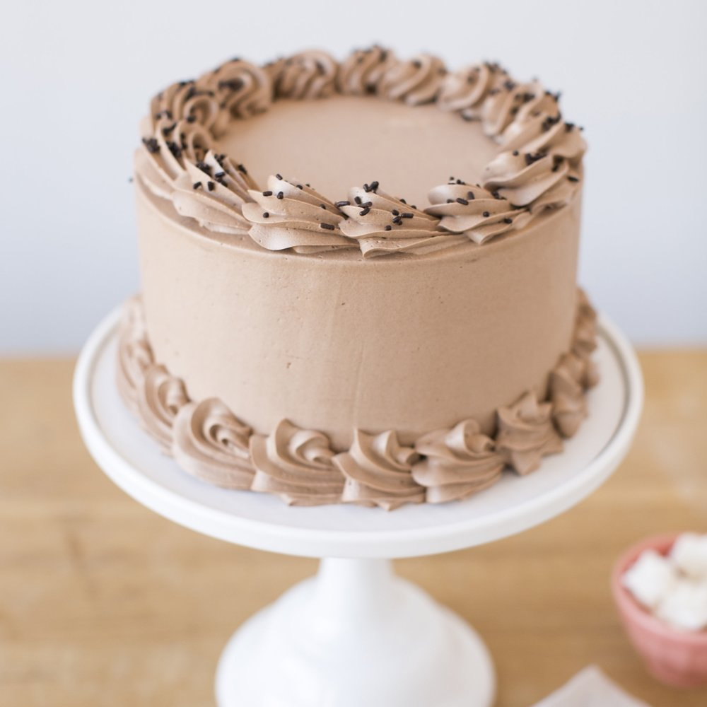 President's Choice  Vanilla cake, Ganache and Salted Caramel filling and chocolate buttercream.  $50
