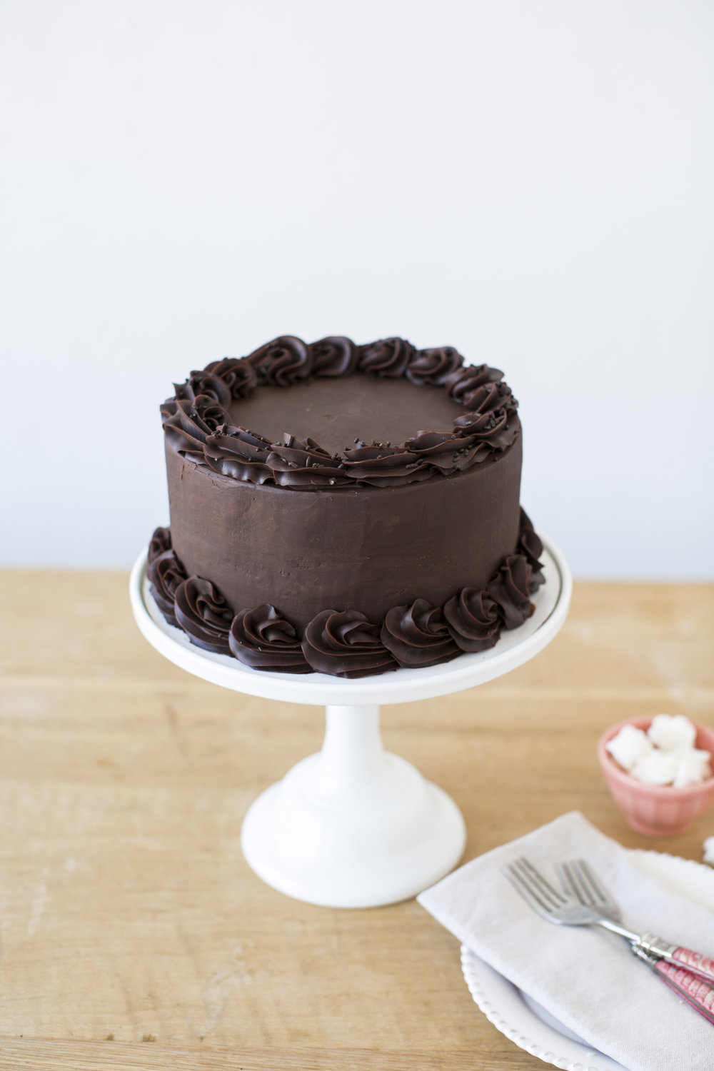 Chocolate Maximus   Chocolate cake, with chocolate ganache filling and icing    $70
