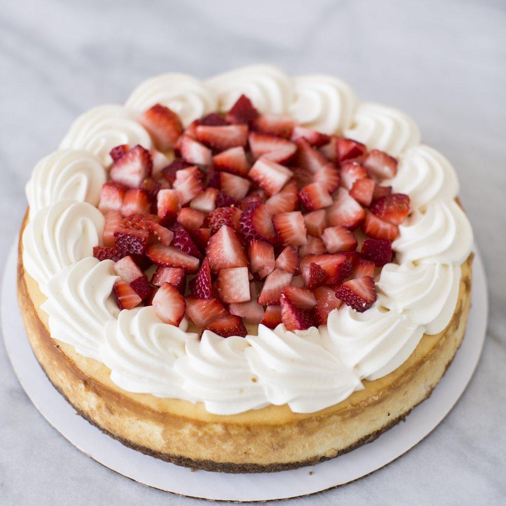 NY Vanilla w/ Berries  Rich, creamy vanilla with strawberries   $45