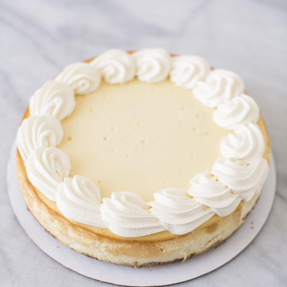 NY Vanilla Cheesecake  A classic...  $40
