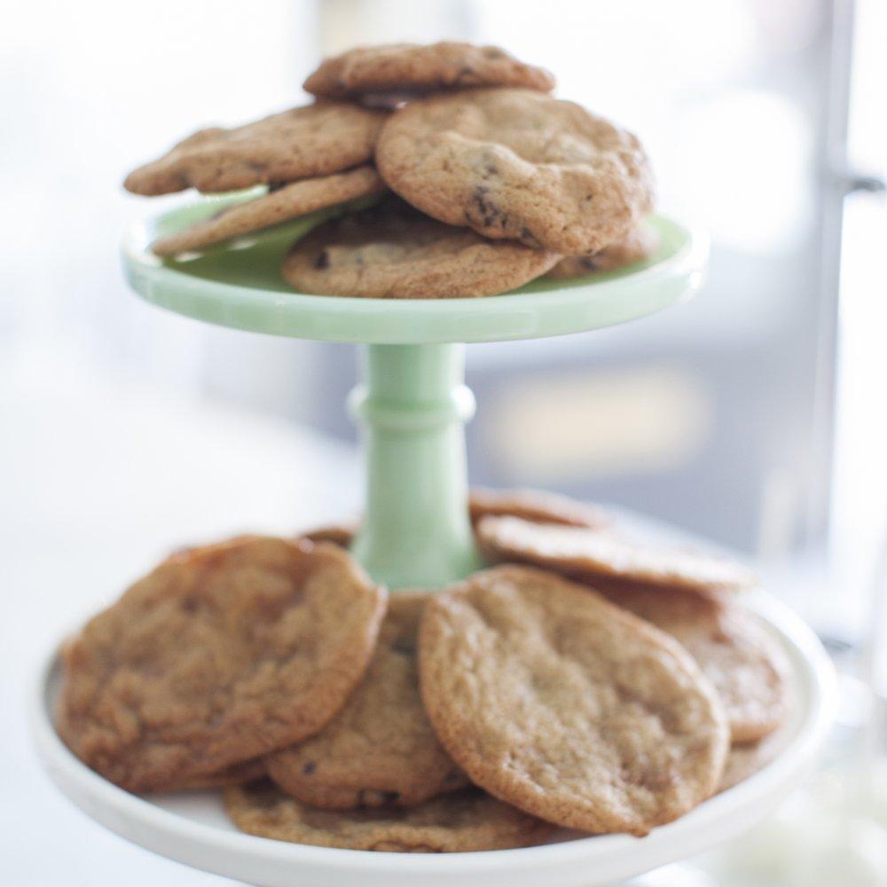 Classic Cookies  Chocolate Chip, Toffee, Double Chocolate Sea Salt, Peanut Butter, etc  $22 dozen