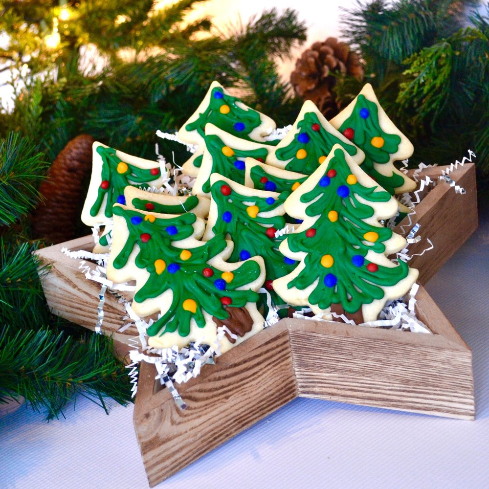 Holiday Tree Cookies   $40