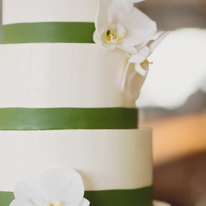 Classic Buttercream Wedding Cake  Border will be replaced with piped buttercream or no border (flowers not included)