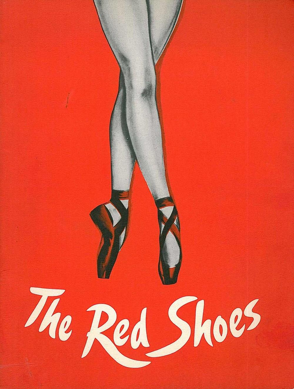 """Werbeplakat zu """"The Red Shoes"""""""