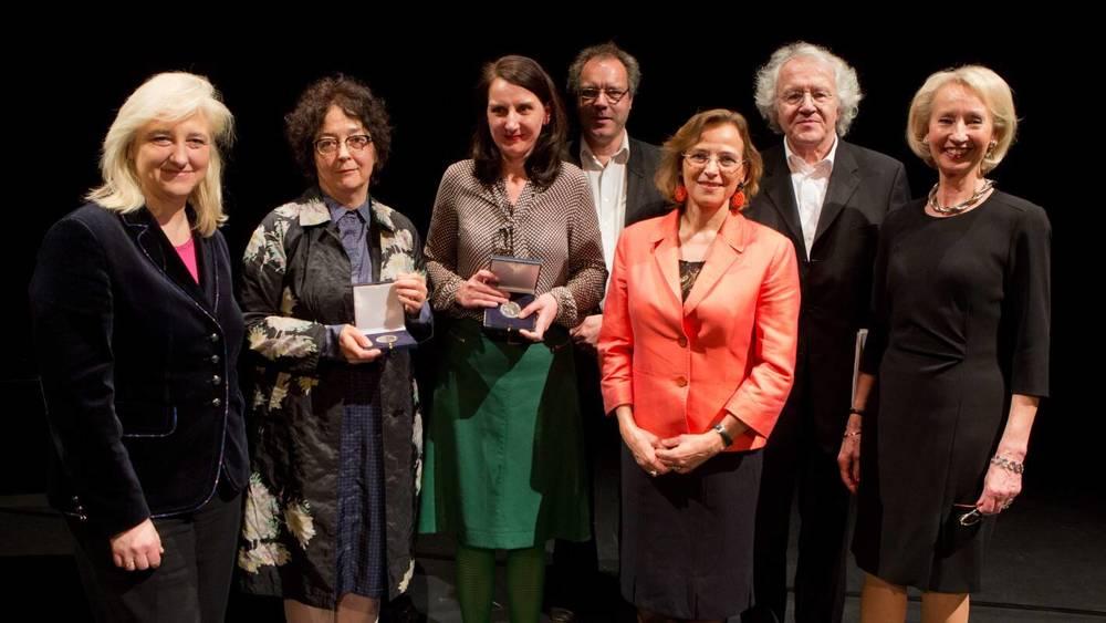 Gruppenbild von der Preisverleihung 2013