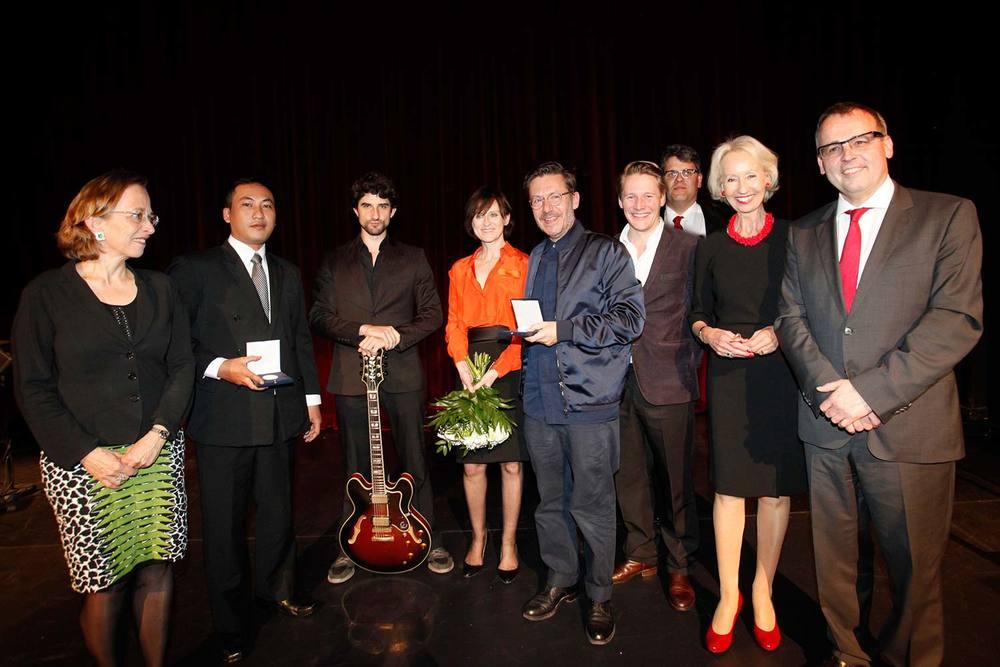 Gruppenbild von der Preisverleihung 2015