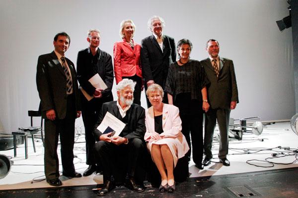 Gruppenbild von der Preisverleihung 2007