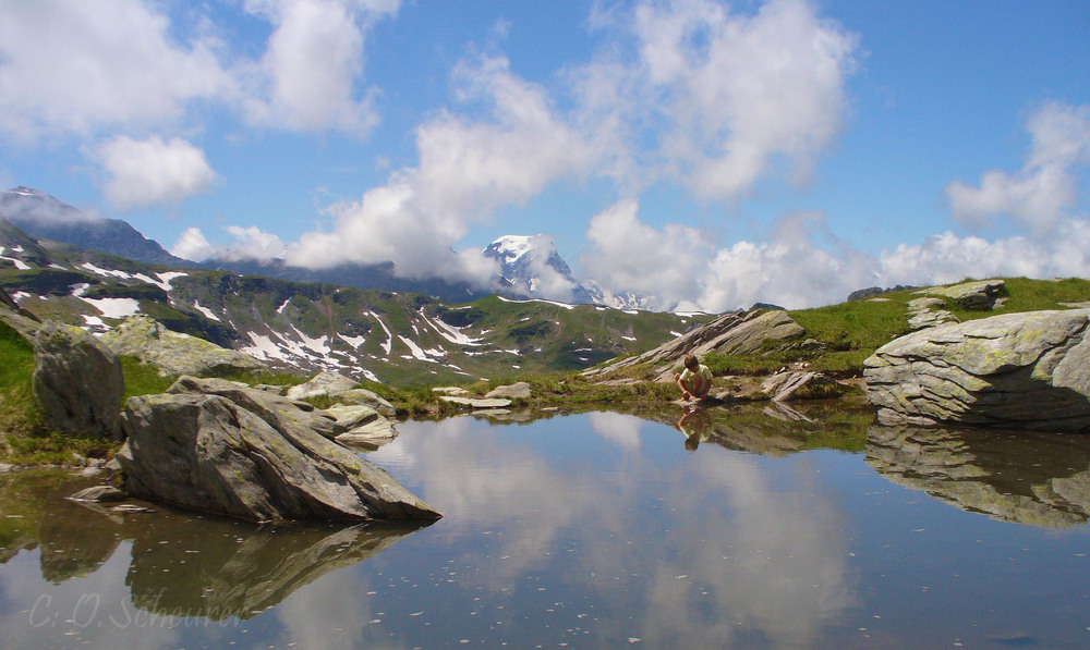 Bergsee vor Leglerhütte