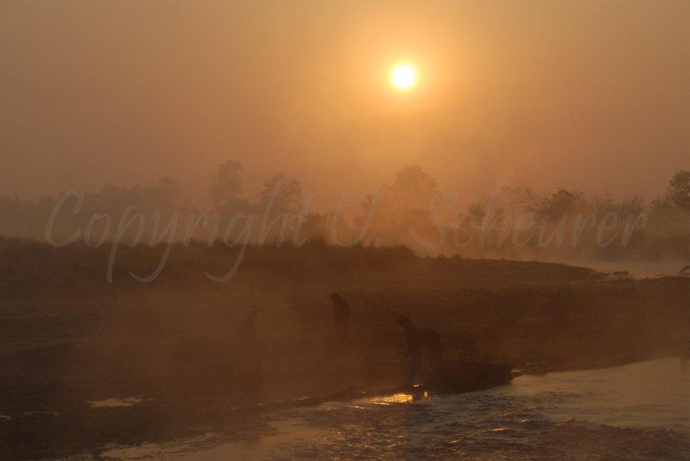 Fishermen, Chitwan