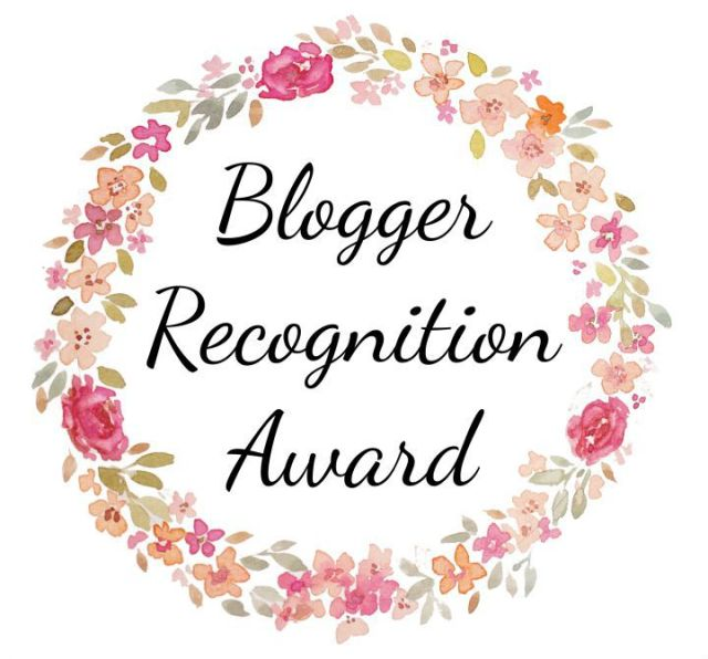 Blogger Recognition Award Reading After Dark Book Blog