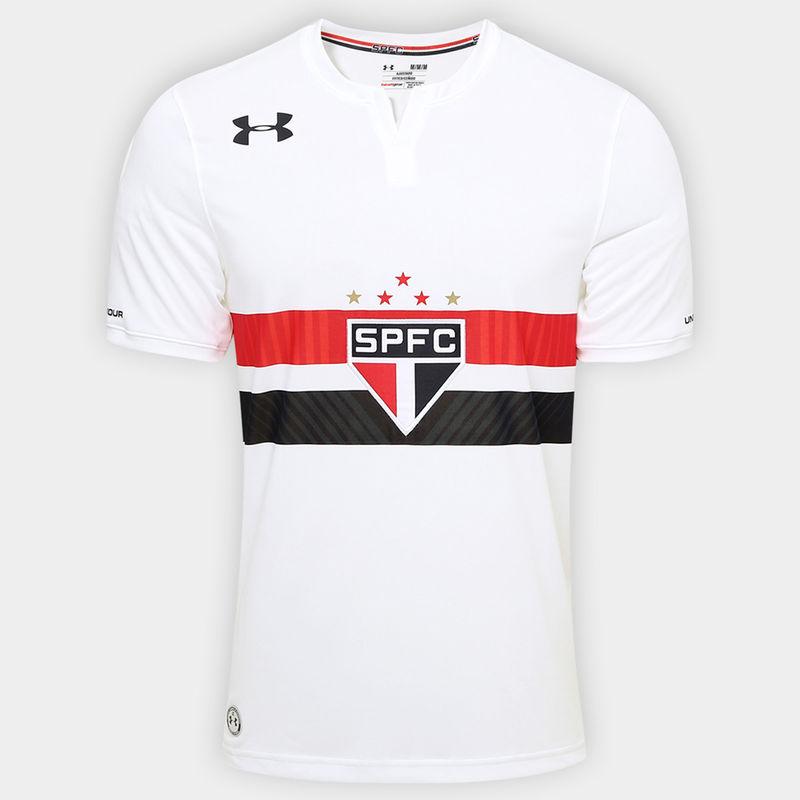 São Paulo Home Shirt - 2017 (image courtesy of  Football Shirt Culture )