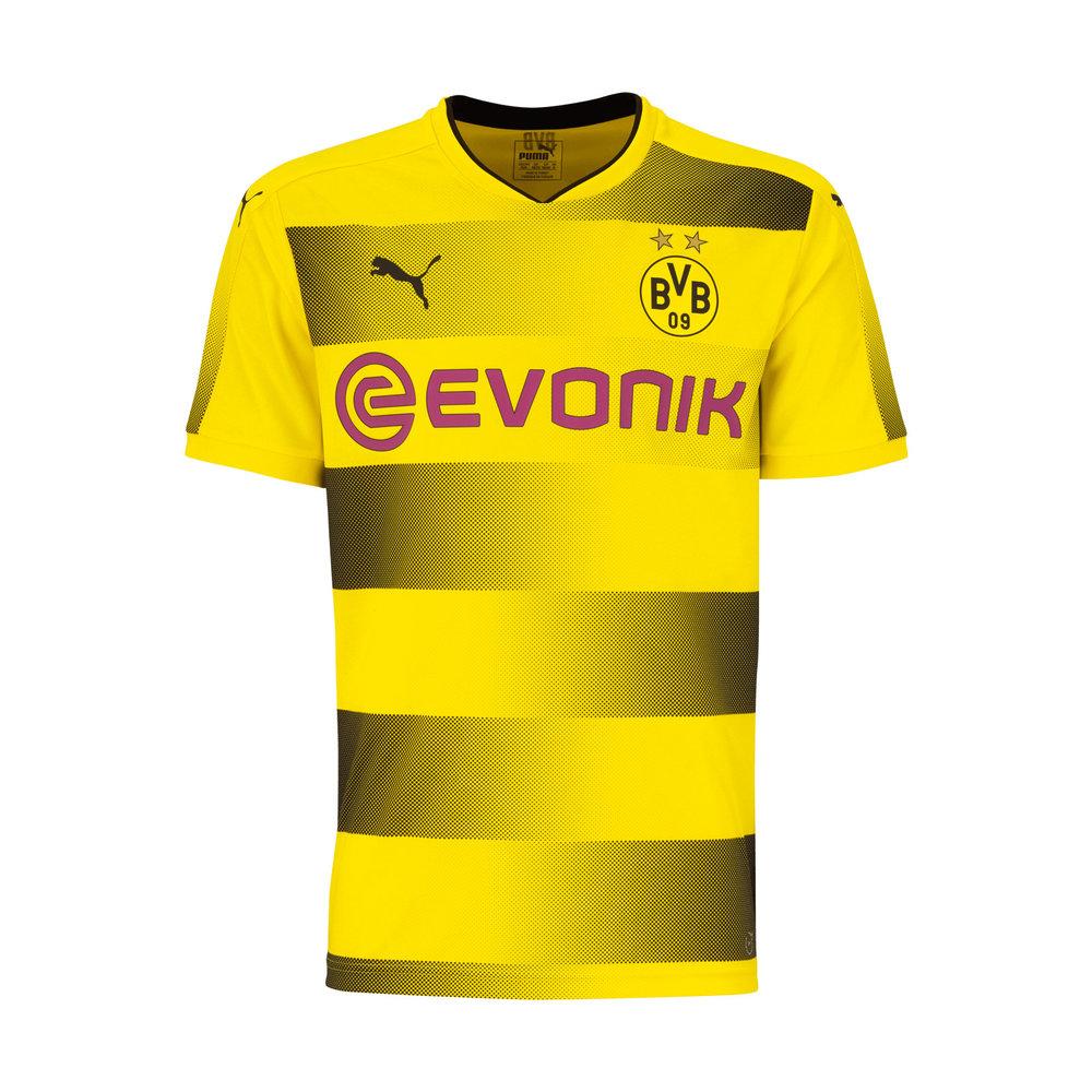 Borrusia Dortmund Home Shirt - 2017 (image courtesy of  Football Shirt Culture )