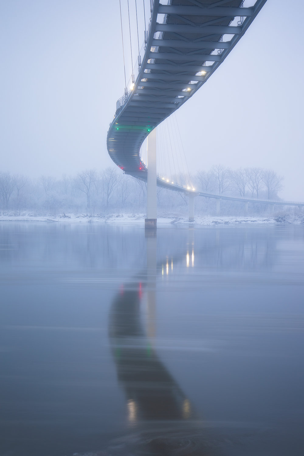 Bob Kerry Pedestrian Bridge - 35mm - ISO 100 - f/7.1 - 3.2 sec.