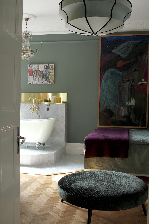 Inredningsarkitekt stockholm lägenhet birger jarlsgatan 7