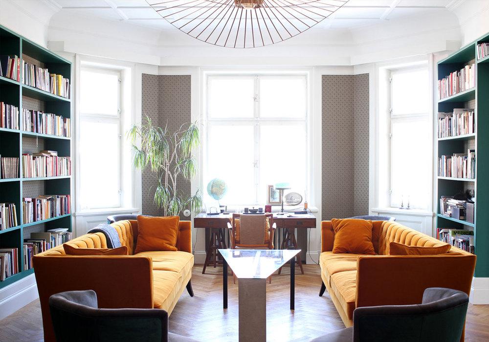 Inredningsarkitekt stockholm lägenhet birger jarlsgatan