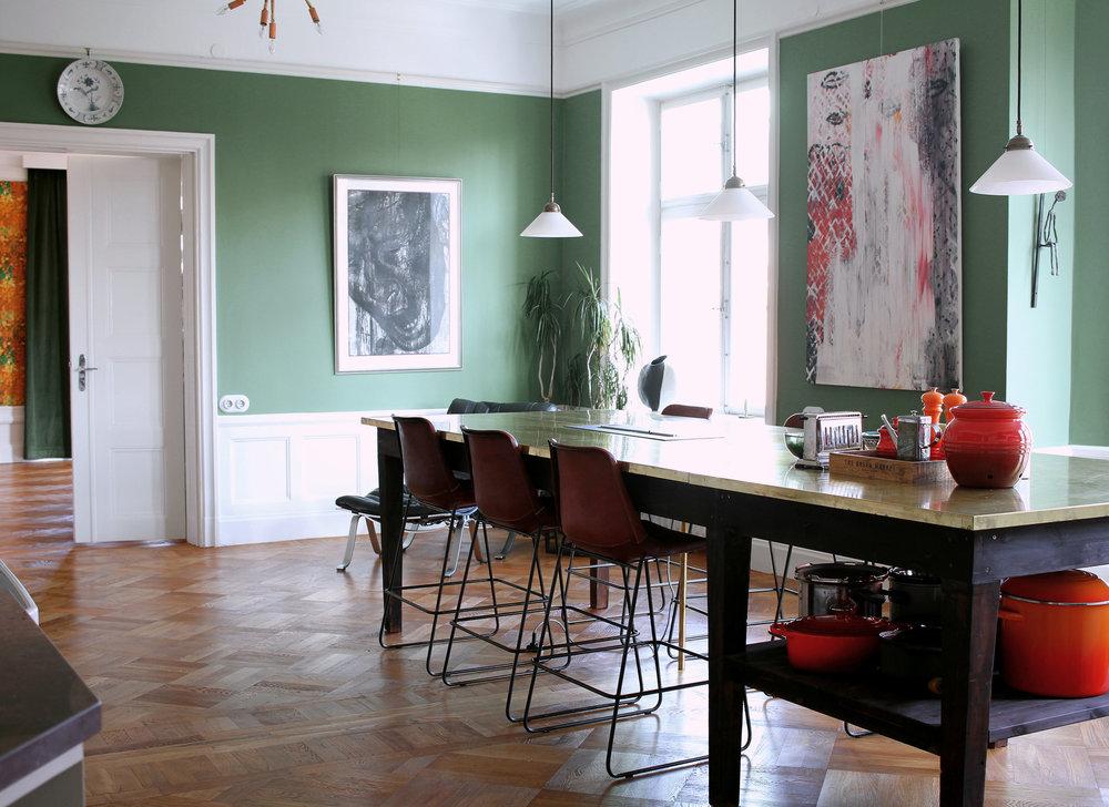 Inredningsarkitekt stockholm lägenhet birger jarlsgatan 3