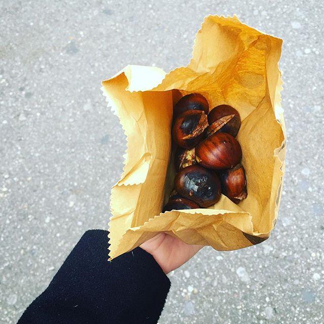Heisse maronie in Basel! 🍂🐿 Autumn food! 🇨🇭 #heissemaroni #basel #autumn #streetfood #autumnfood