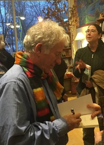 Peter Gould signing at GALAXY Bookshop.