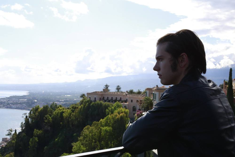 Just make sure to get my good side. I mean, Taormina's good side. Photo by Robert Manor.