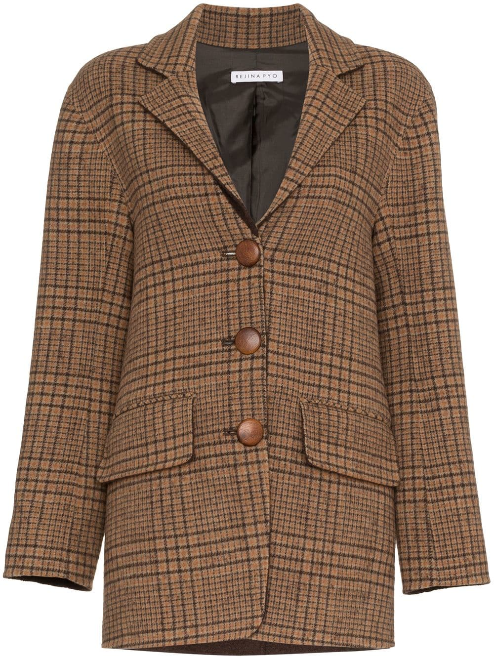 Rejina Pyocheck wool blazer - shop