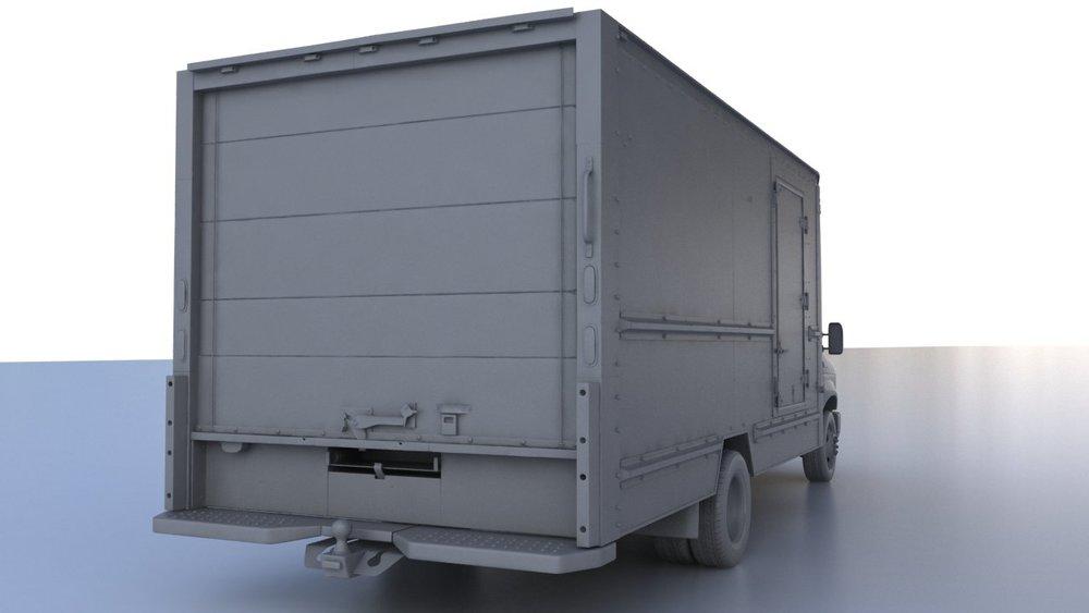 Serve Pro Panel Truck