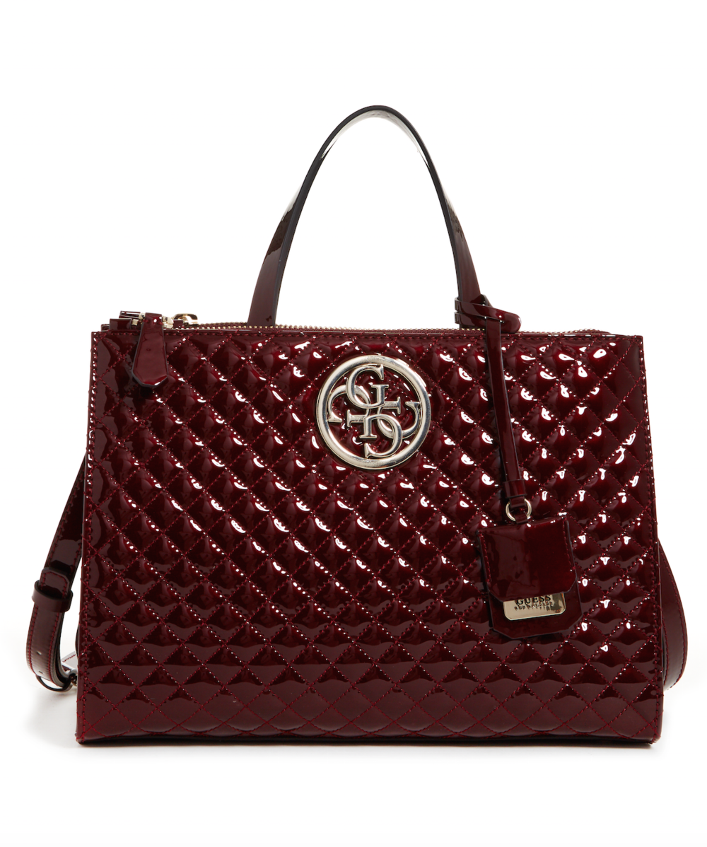 A Burgundy Tote - expect complimets
