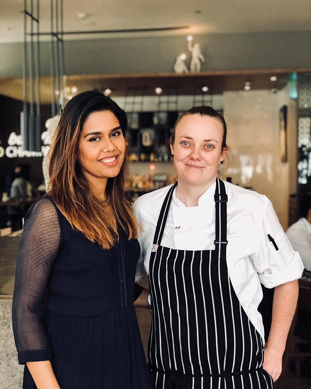 With the new Aussie Chef de Cuisine, Candice Walker who has crafted a brilliant new menu for @qwertydxb @mediaonehotel. The plates are delicious , edgy, and refreshing. I tasted a lineup of lovely courses that as the afternoon progressed left me feeling at once satisfied and excited for what is to come.