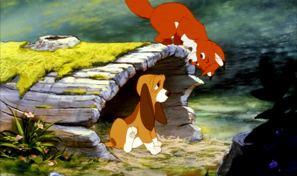 Disney's The Fox and the Hound, based on the novel by Daniel P. Maddux