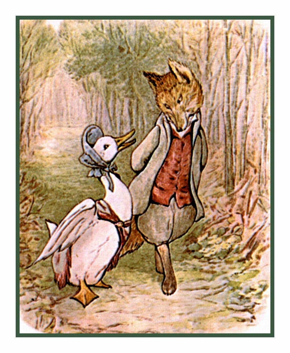 From The Tale of Jemima Puddle-Duck by Beatrix Potter