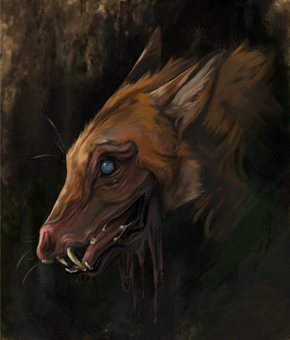 Slagar the Cruel from Redwall by Brian Jacques, art by kaziikat (Deviant Art)