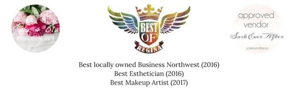 Best locally owned Business Northwest (2016)Best Esthetician (2016)Best Makeup Artist (2017) (2).jpg