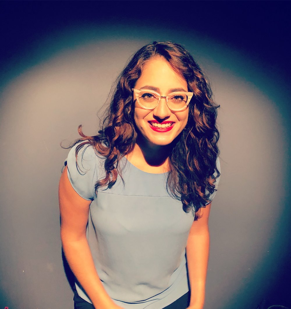Marlena Rodriguez is a herspanic comedian who's been makin' em giggle since 1989. She's written for Unbreakable Kimmy Schmidt, The Second City, and was named a Comedy Central Comic To Watch. Google for more, listen to Marlena's podcast What Would My Friends Do?, and follow her on twitter @marlenarodrigz.