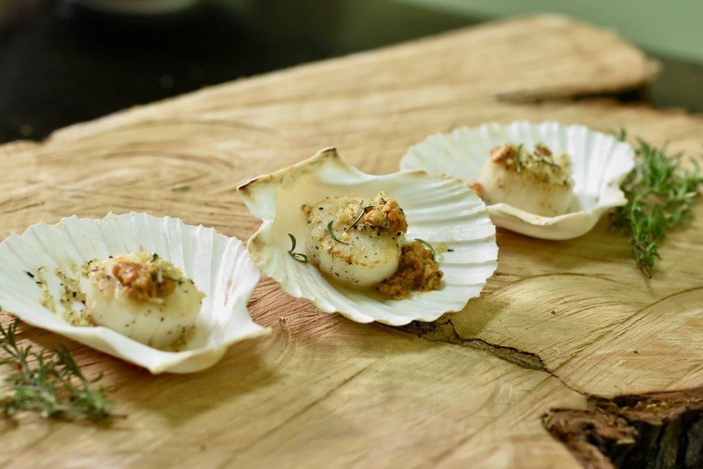Seared Scallops/Hazelnut Brown Butter