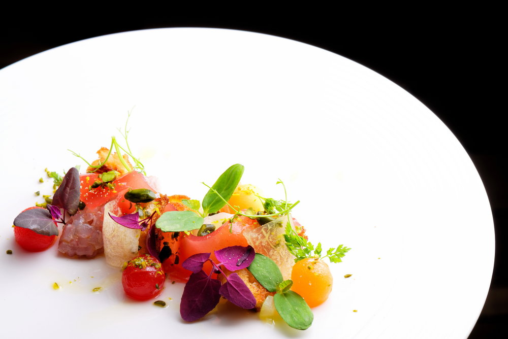 I adore the art of cuisine and plating, I find myself in my most tranquil, creative space there.