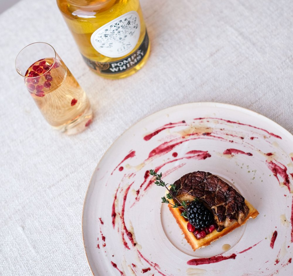 POMP & WHIMSY LACQUERED FOIE GRAS (Bessie Lacap Photography)