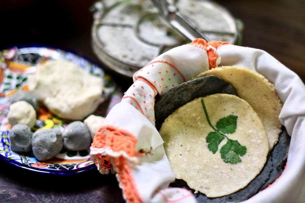 Making Tortillas & Masa Creations