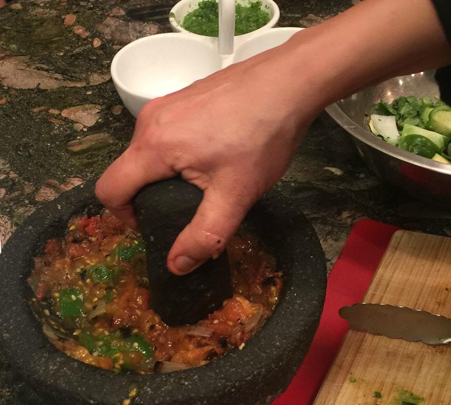 Artisanal Salsas from Handmade Tortillas & Salsas Class